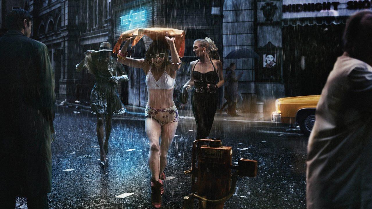Rain efficient solution