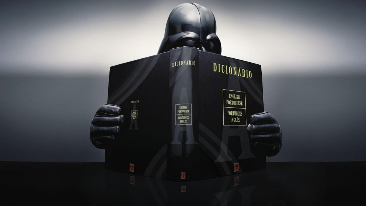 Vader learning Portuguese