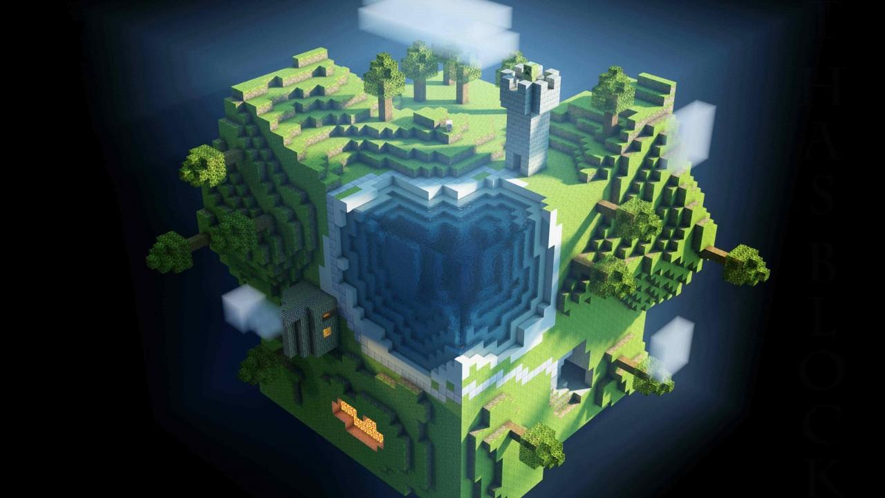 Lego 3D world