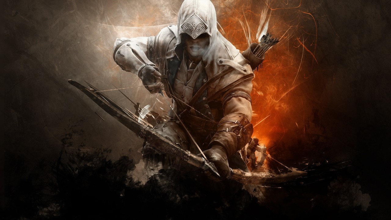 assassins creed 3 connor game hd wallpaper