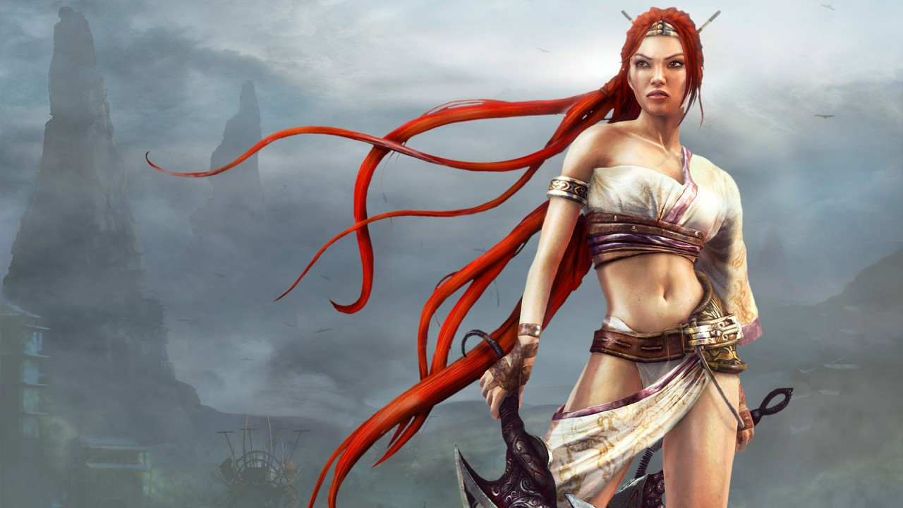 games girl hd wallpaper
