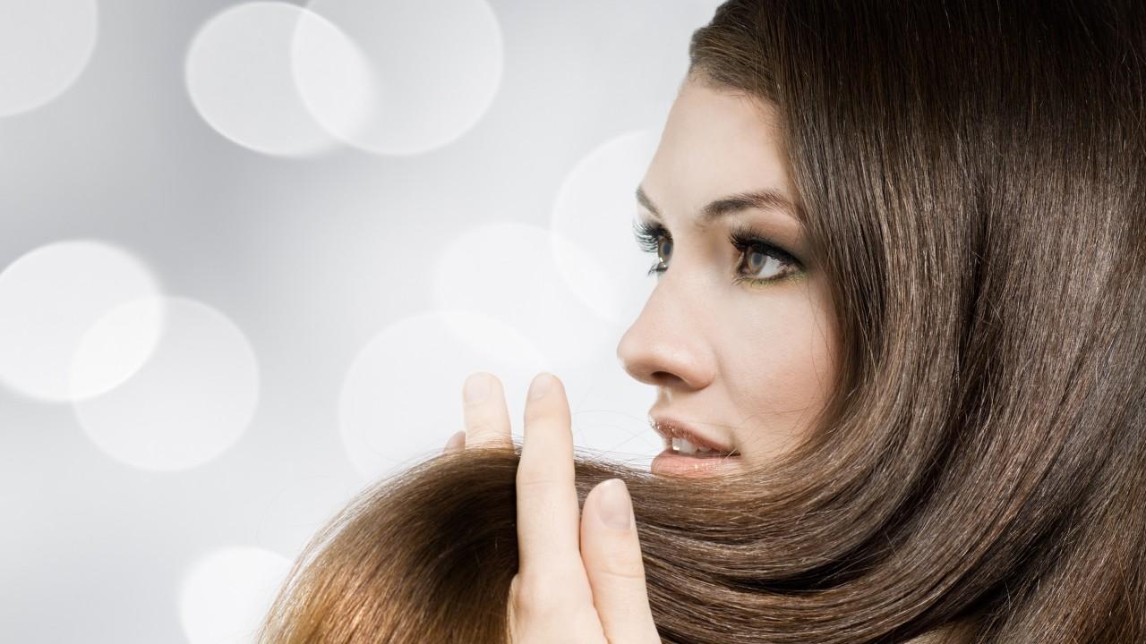 long and shinny hair