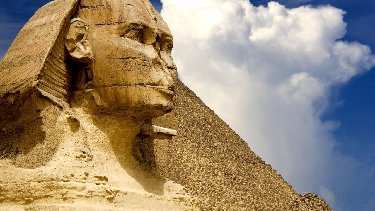 hd wallpaper sphinx