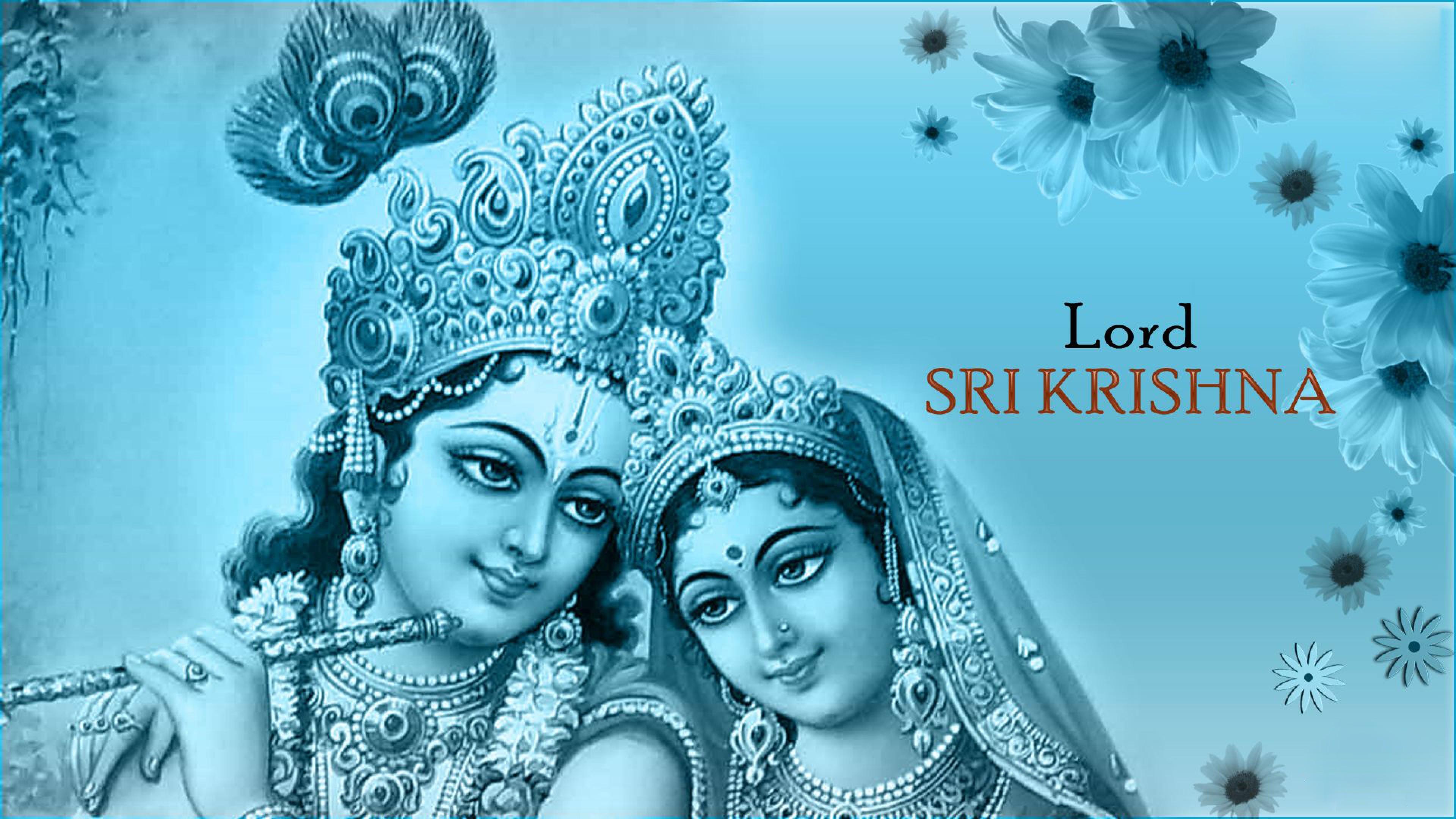 lord sri krishna hd wallpaper