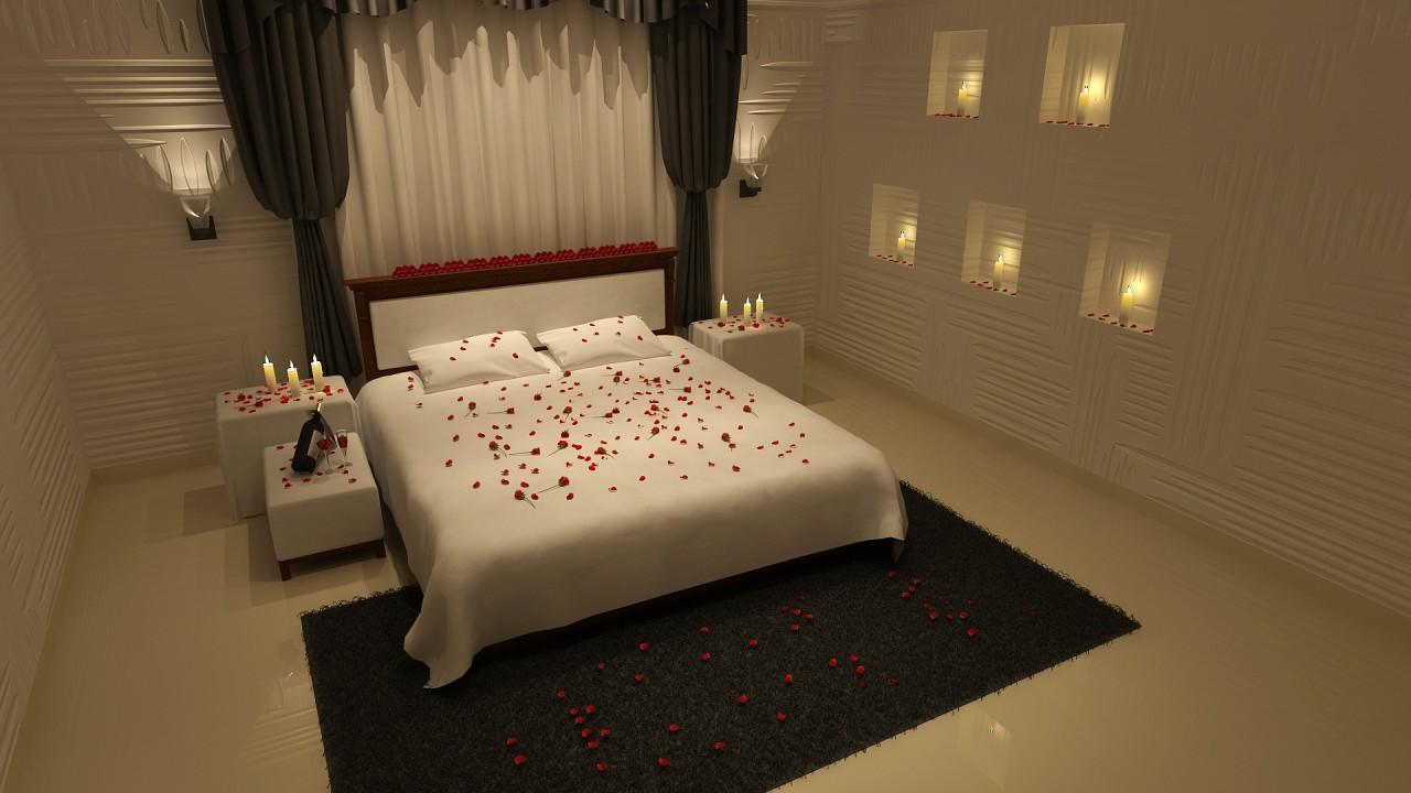 bedroom interior hdwallpaper