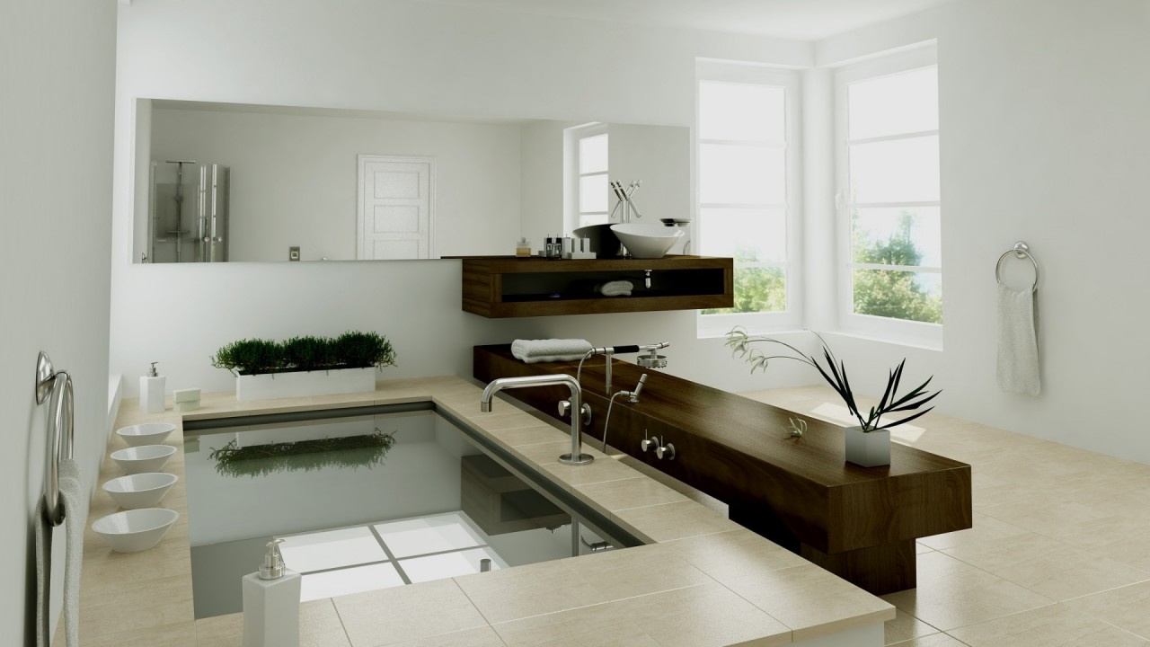 hd wallpaper modern bathroom