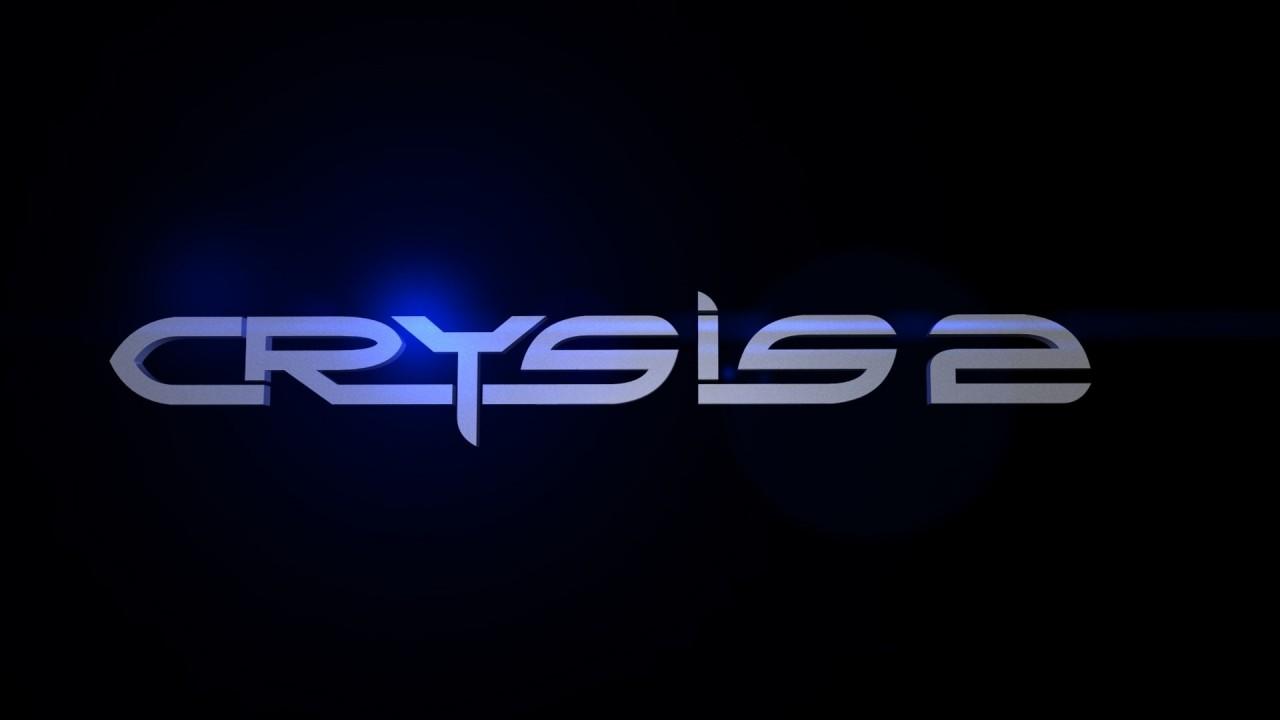 hd wallpaper video game crysis logos