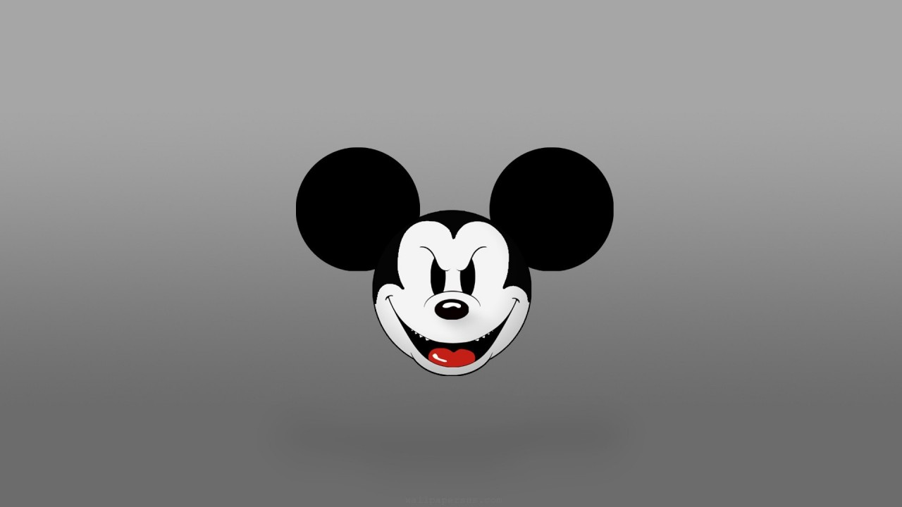 logos evil mickey mouse hd wallpaper