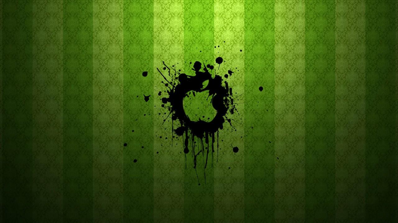 apple green art wide