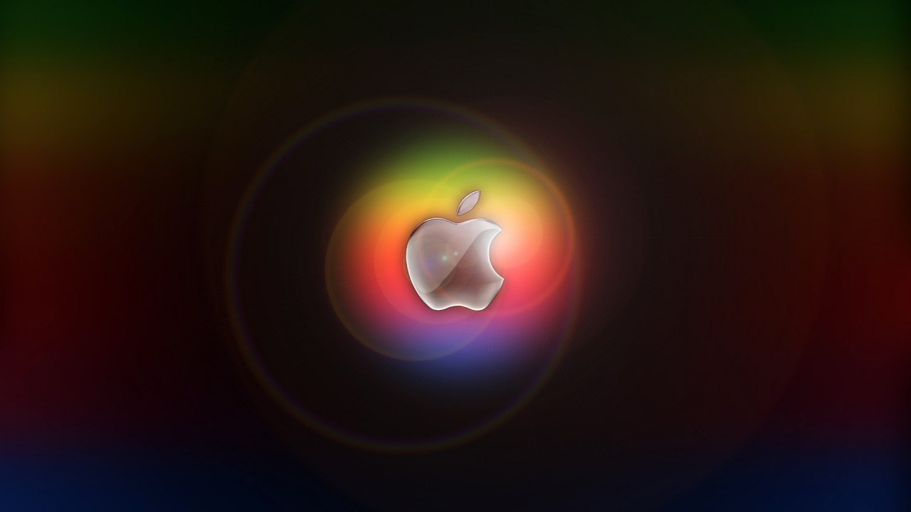 apple logo hd wide