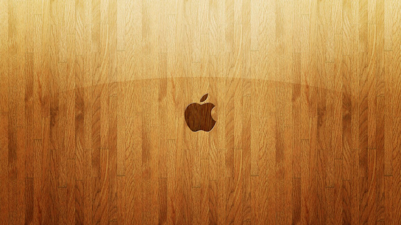 apple wooden glass wide