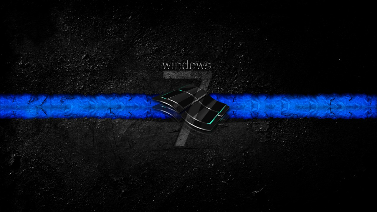 windows 7 dirty dark HD