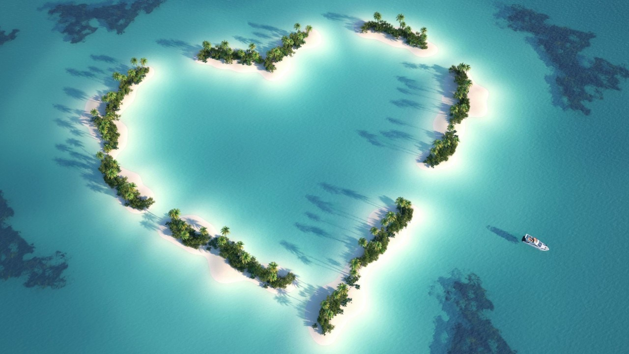 hd wallpaper beautiful love Island