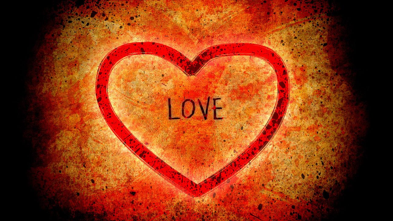 romance heart love hd wallpaper