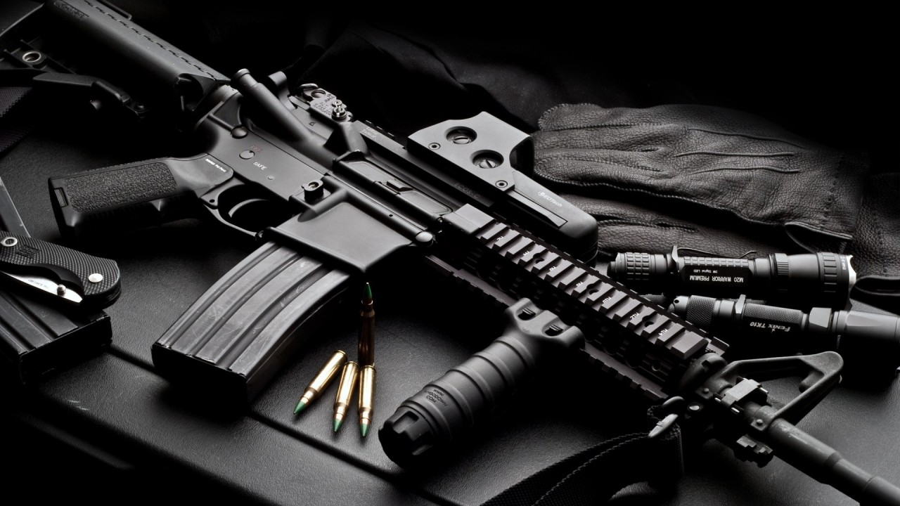hd wallpaper military gun