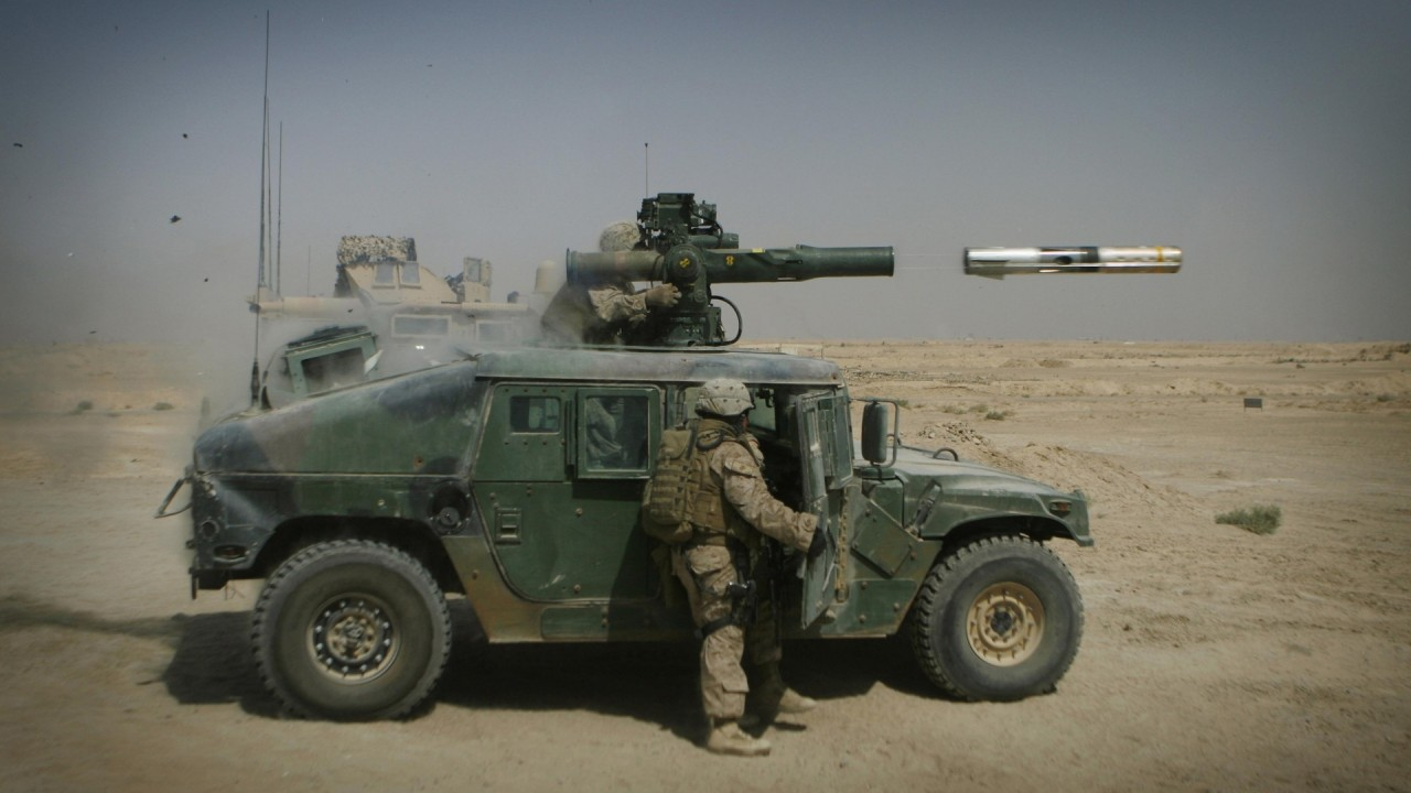 hd wallpaper military hummer firing shells