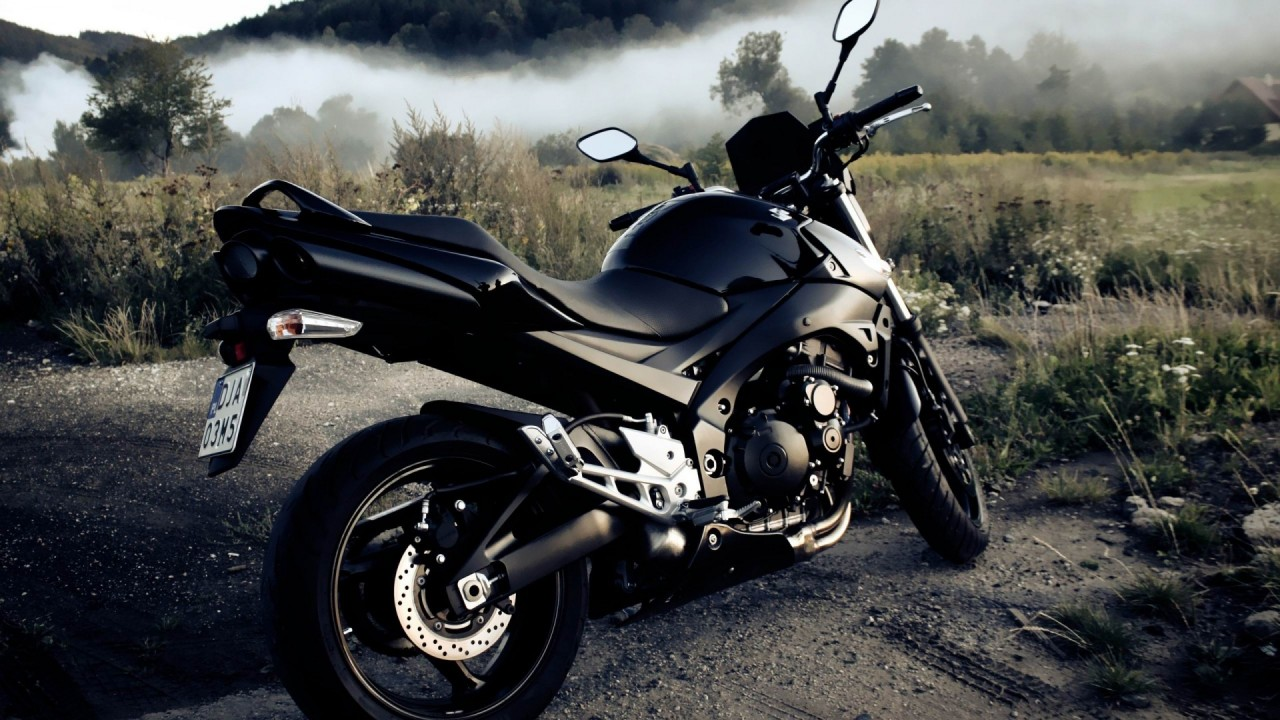 blak motorcycle hd wallpaper