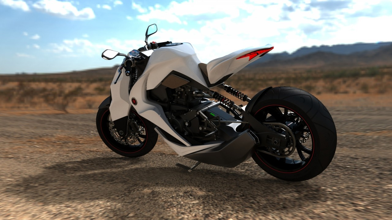 hd wallpaper concept motorcycle