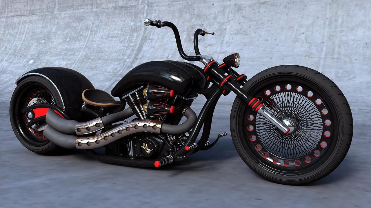 motorcycle chopper hd wallpaper
