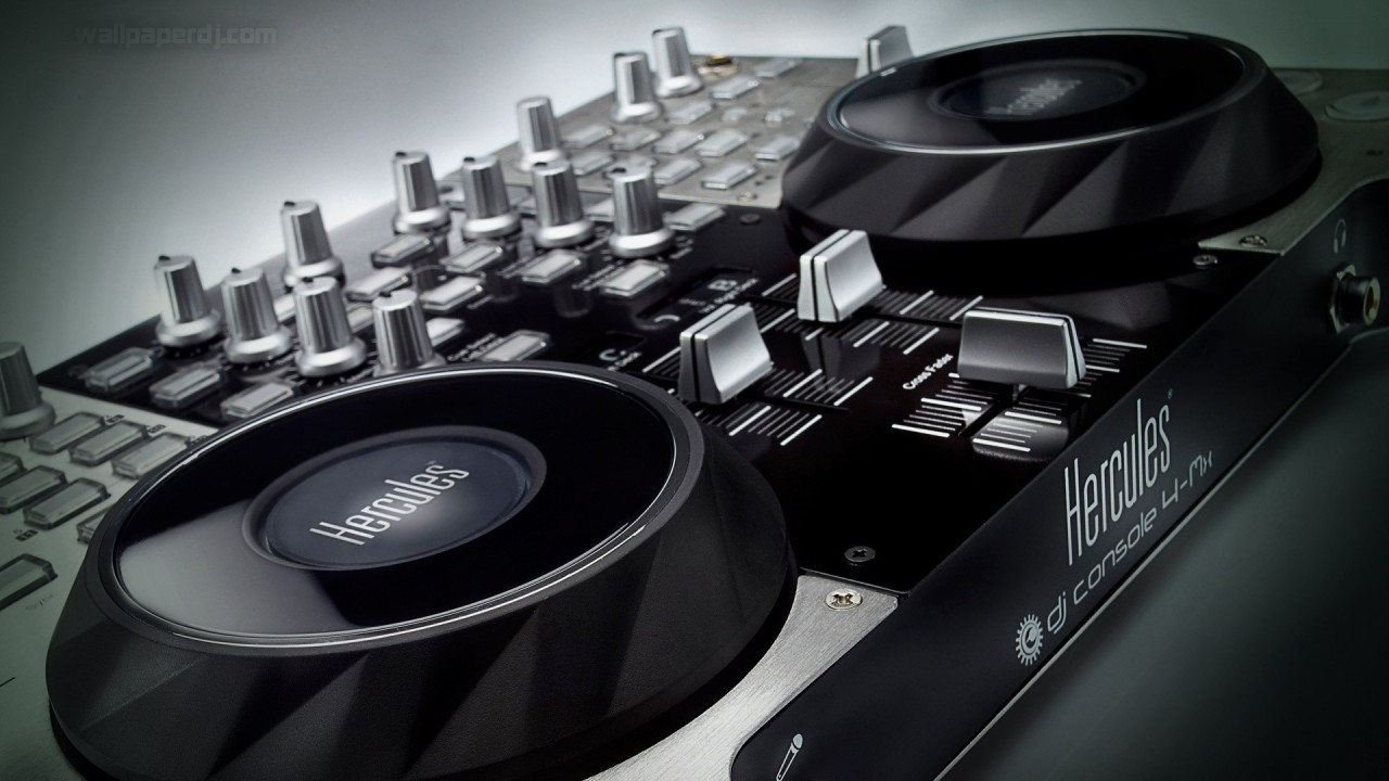 hd wallpaper music console