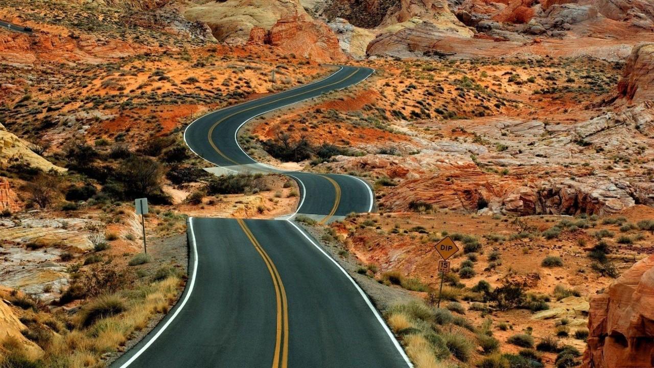 nature road beautiful hd wallpaper
