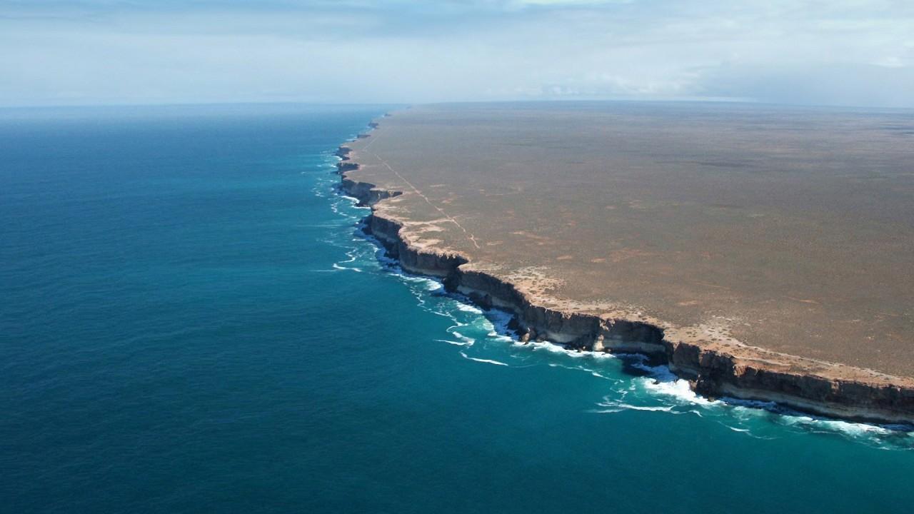 continental shelf and ocean
