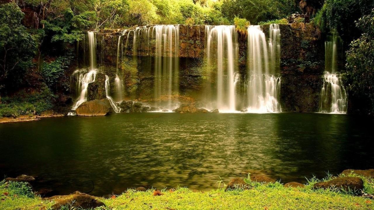 hd wallpaper beautiful natural waterfall