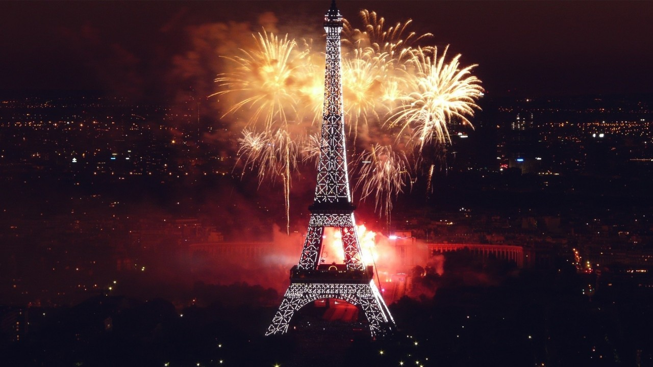 hd wallpaper new year paris