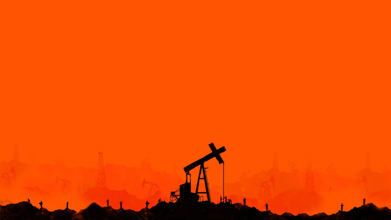 Oil extraction wells