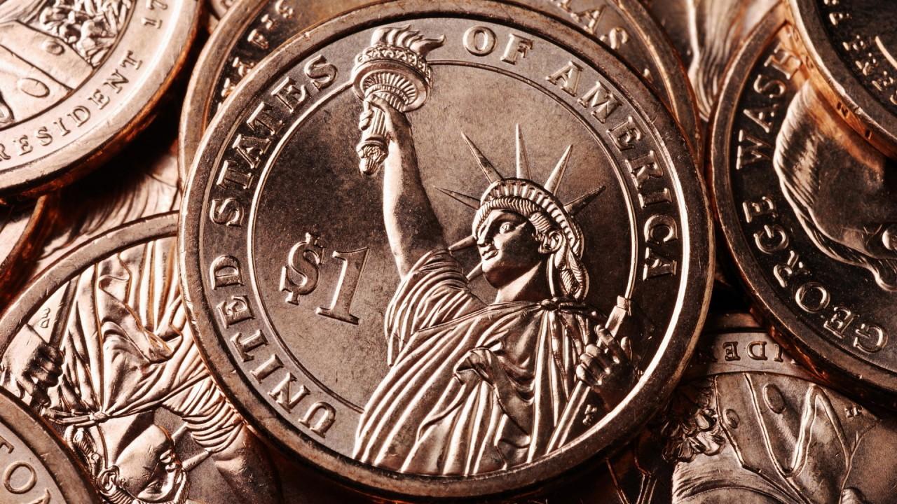 one dollar US