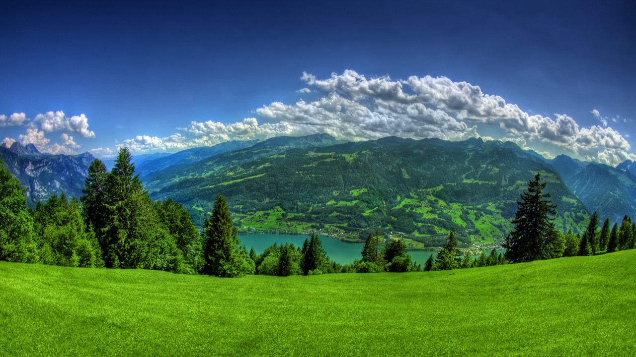 green landscape hd wallpapers