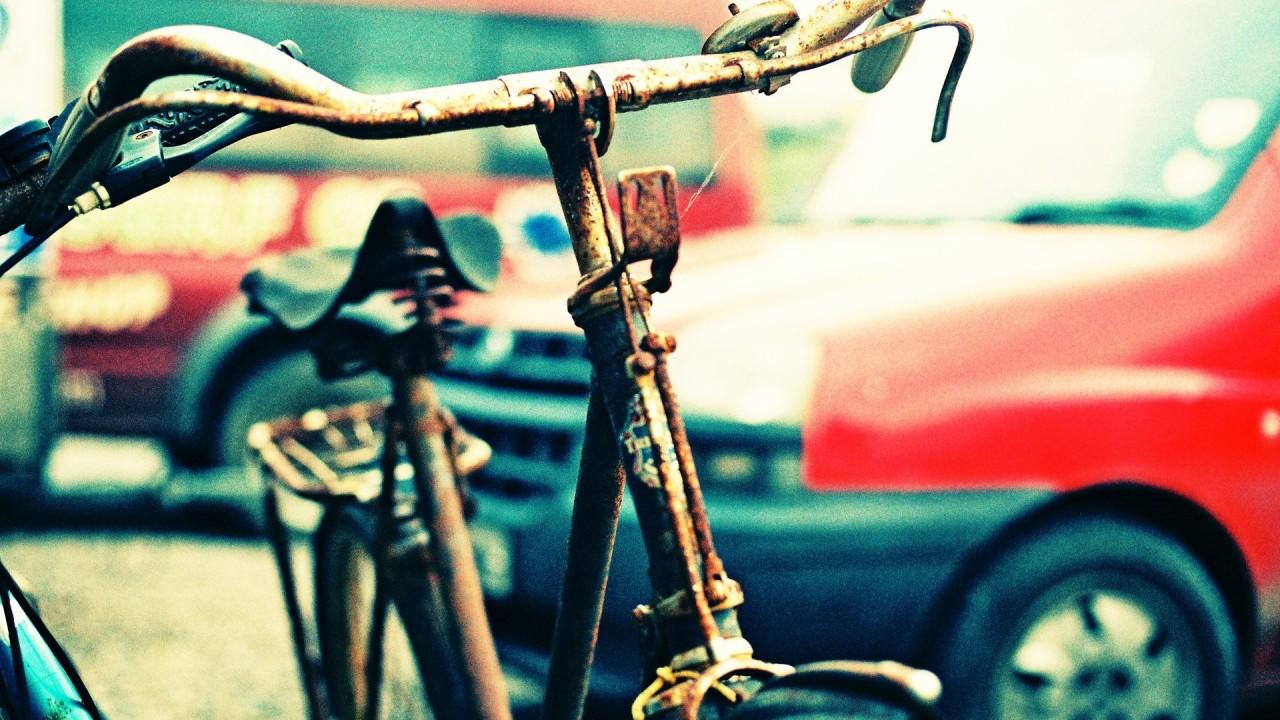hd wallpaper bike beautiful rusty
