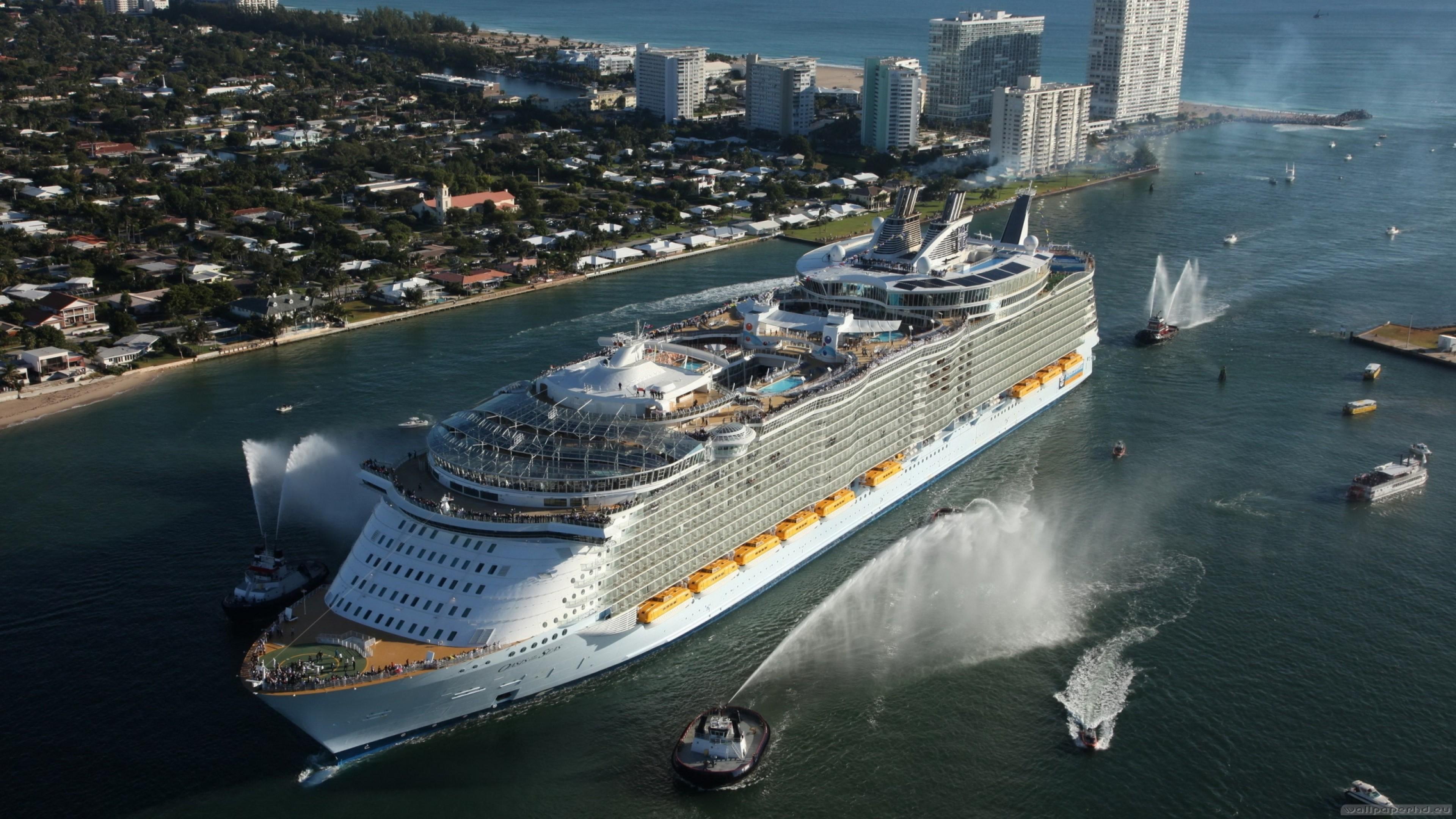 Hd Wallpaper Cruise Ship Hd Wallpapers Trend