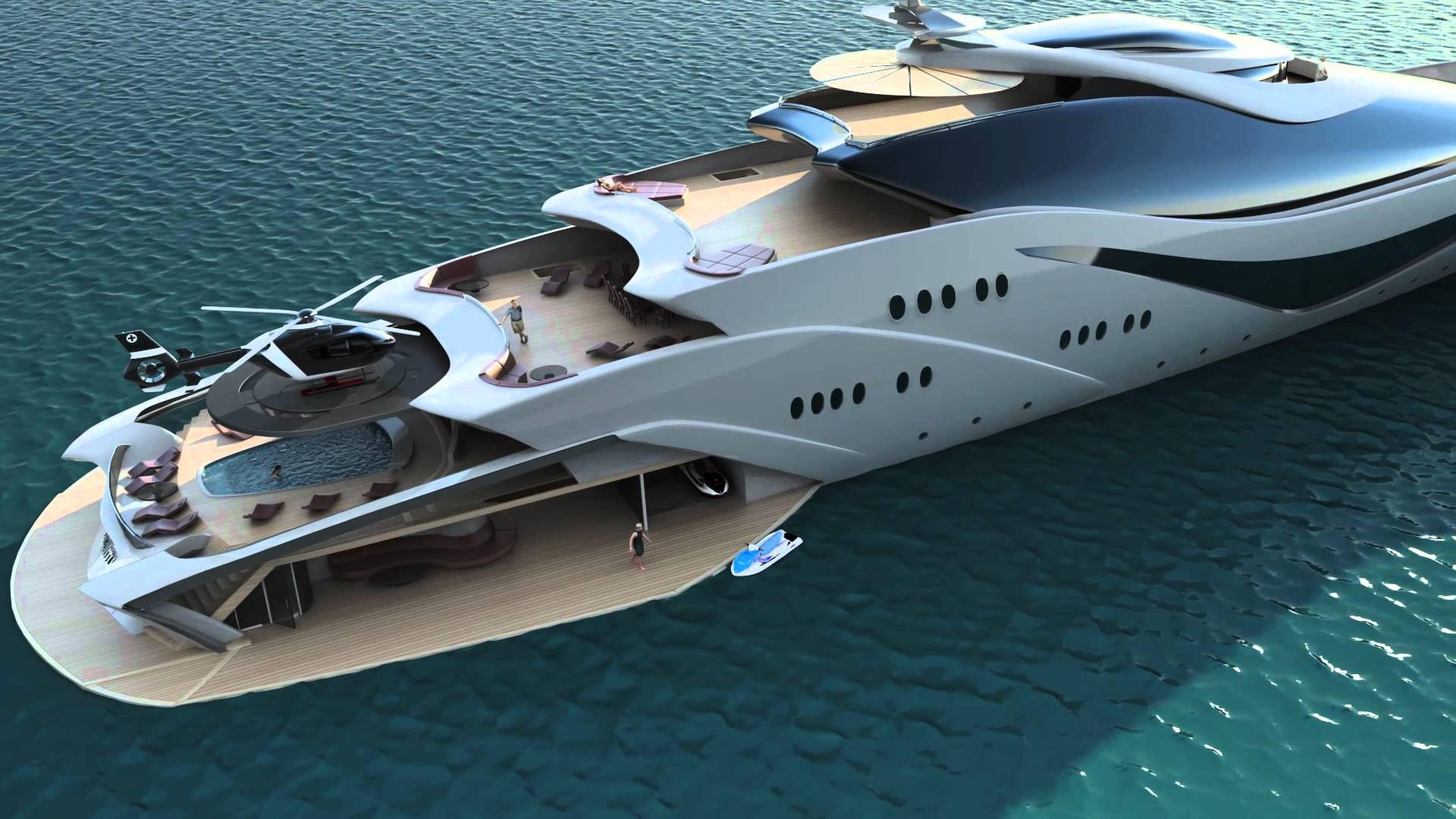 Yacht Luxury Hd Wallpaper Wallpapers Trend