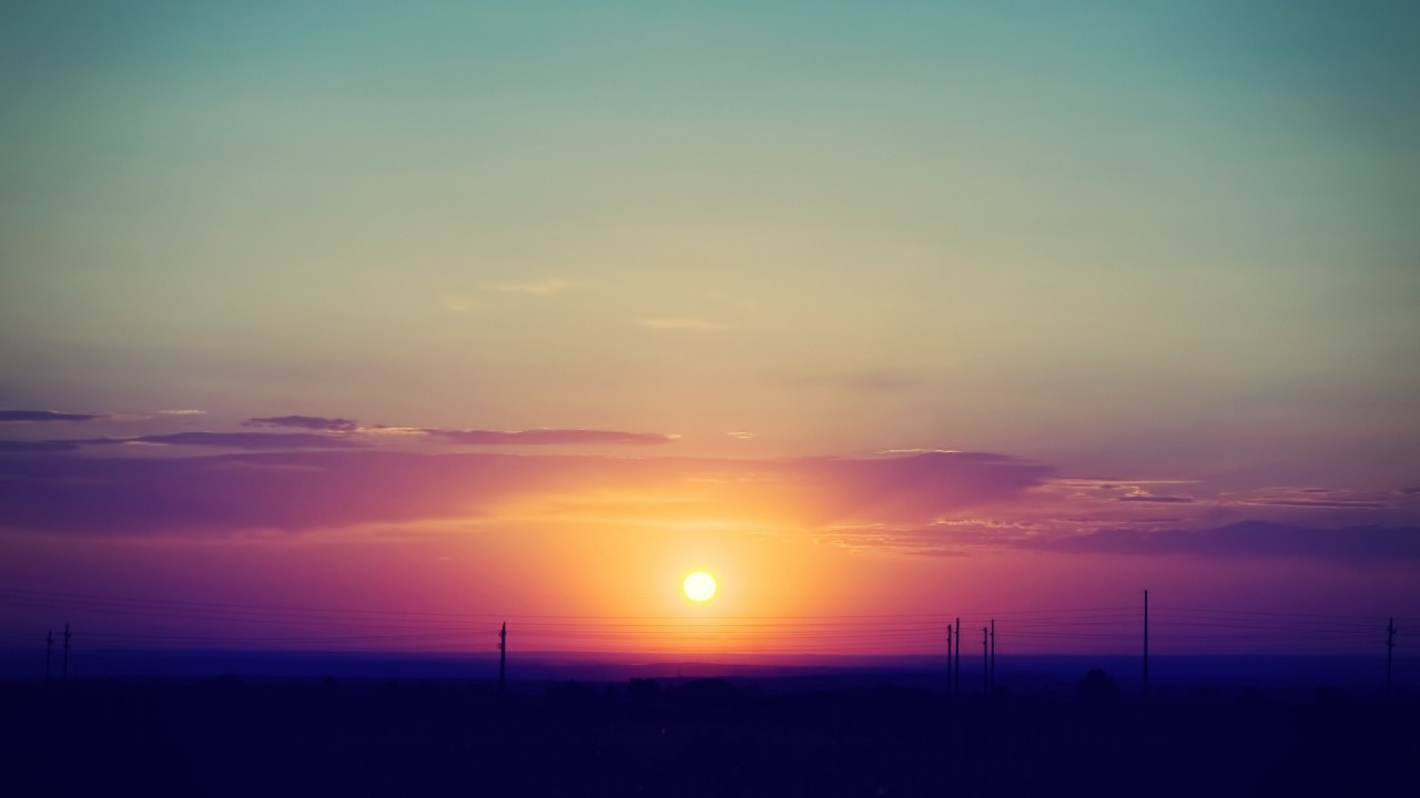 hd wallpaper summer sunset