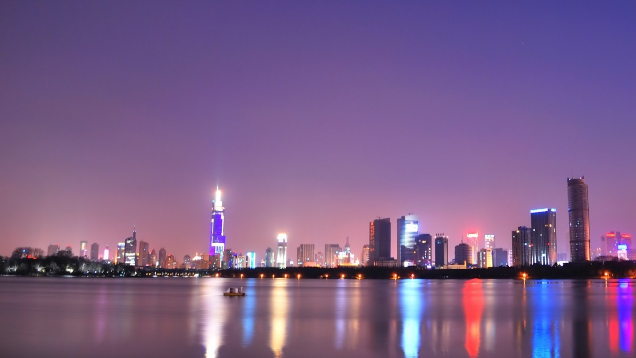 water city skyline hd wallpaper