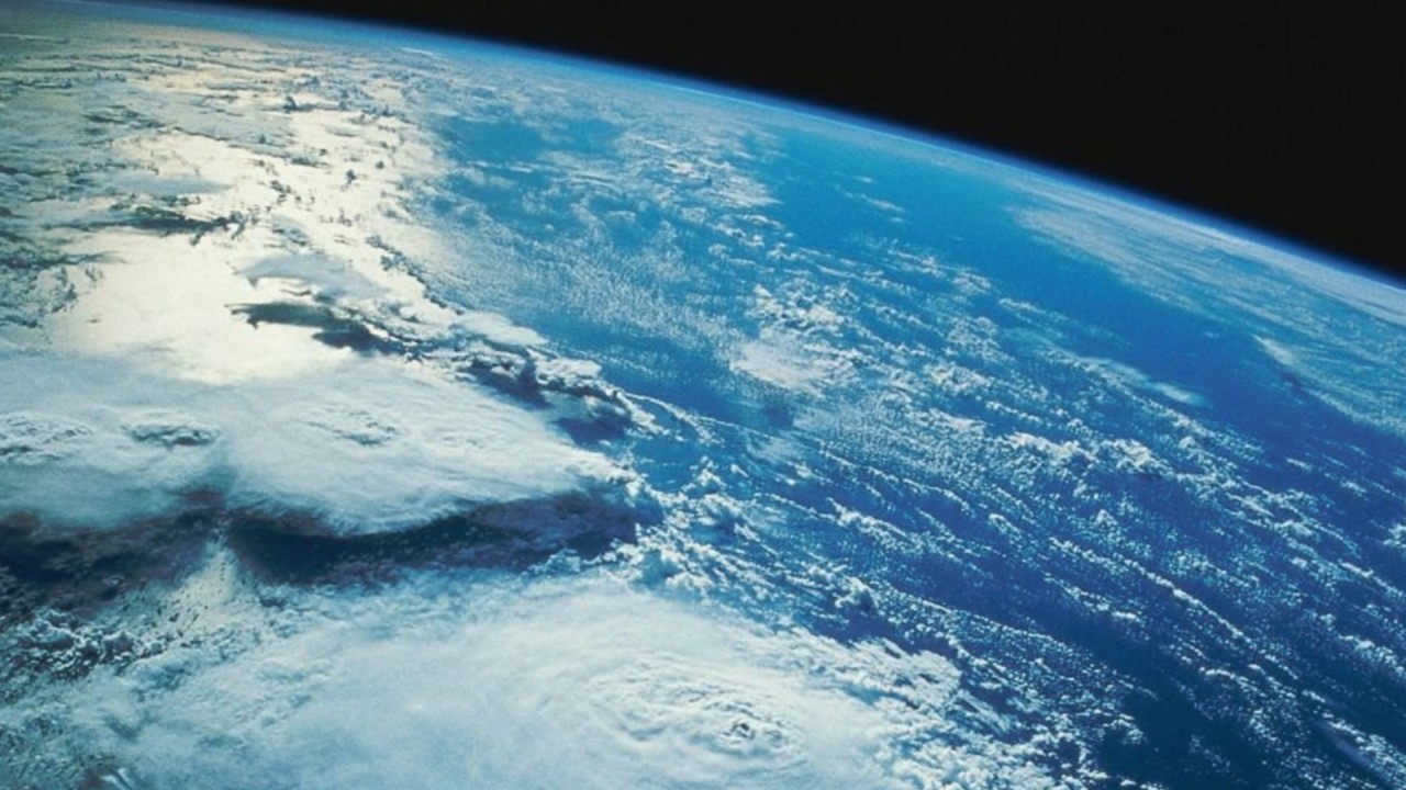 Earths atmosphere from space