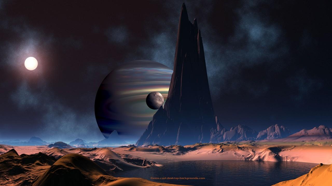gas planet space hd wallpaper