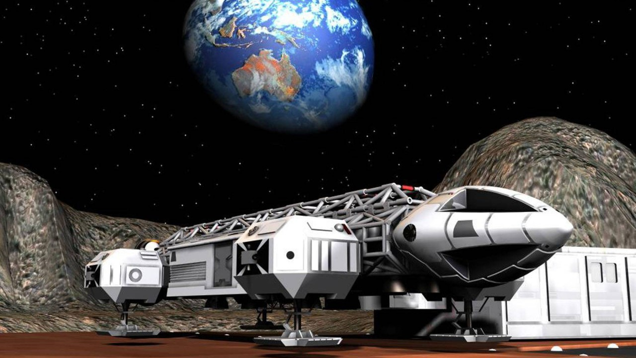 science space fiction hd wallpaper