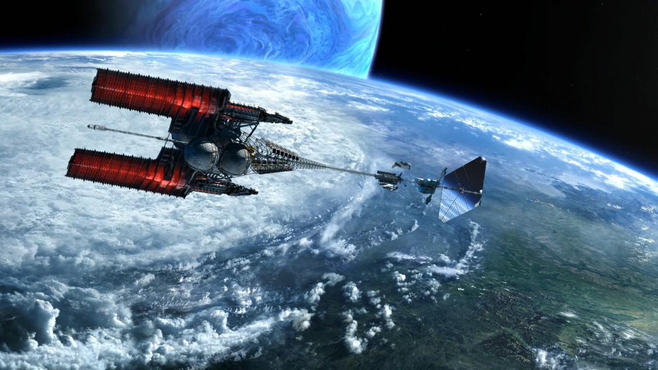 space ship over pandora hd wallpaper