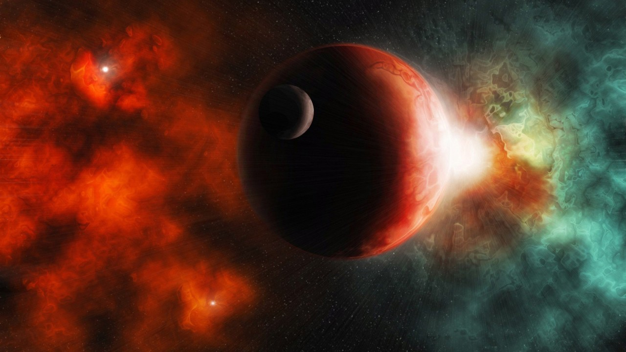 the red dark universe