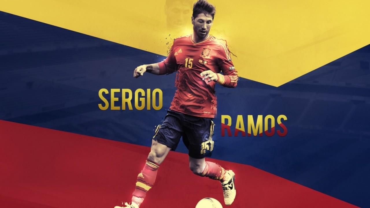 national team sergio ramos hd wallpaper