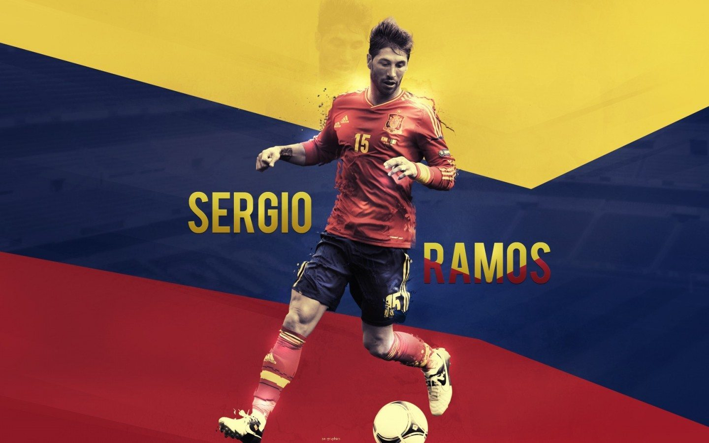 National Team Sergio Ramos Hd Wallpaper
