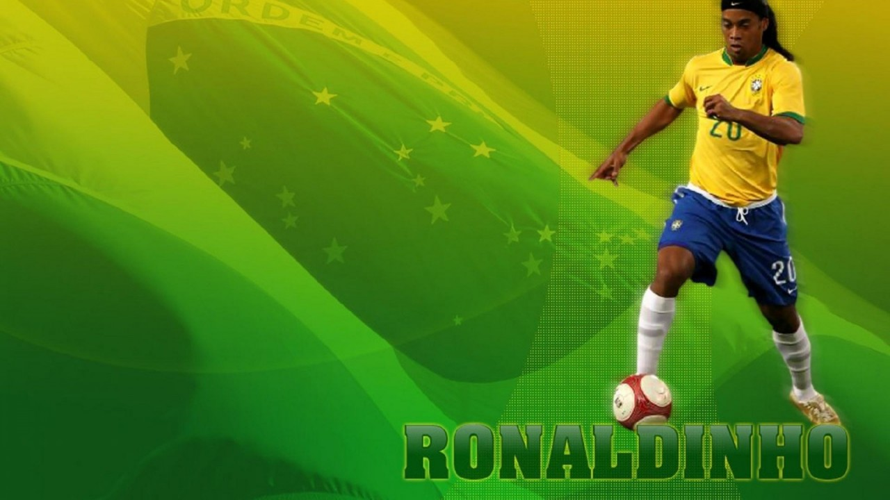 ronaldinho football hd wallpaper