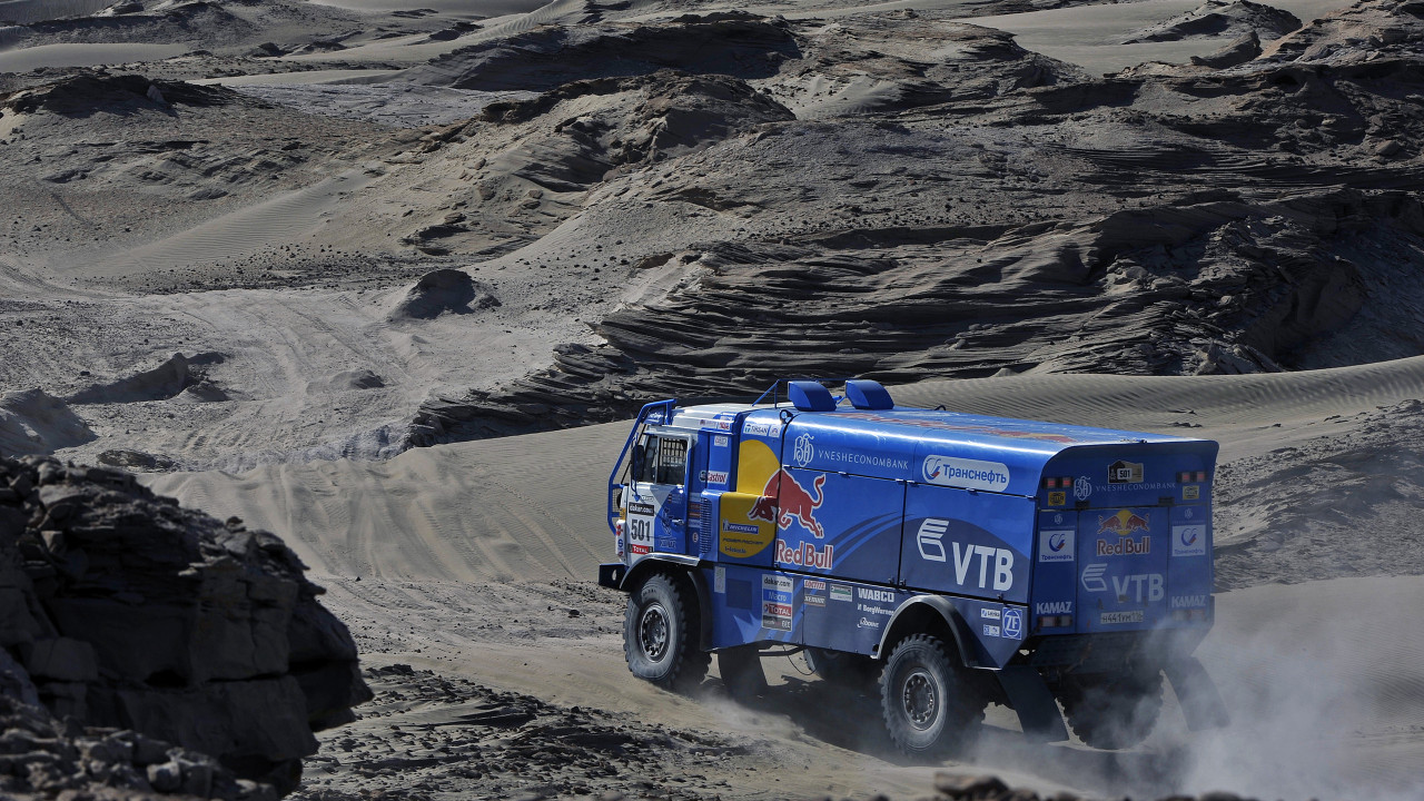 Paris Dakar trucks