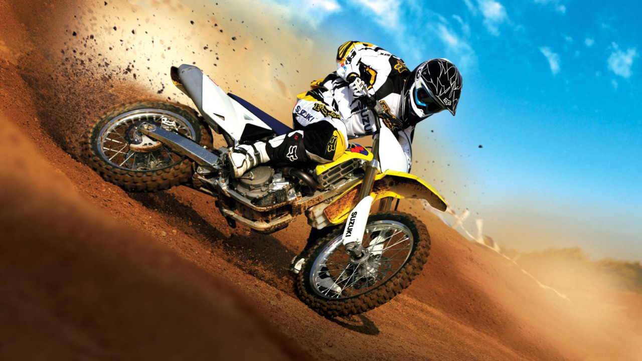 moto sports dirt bike racing hd wallpaper