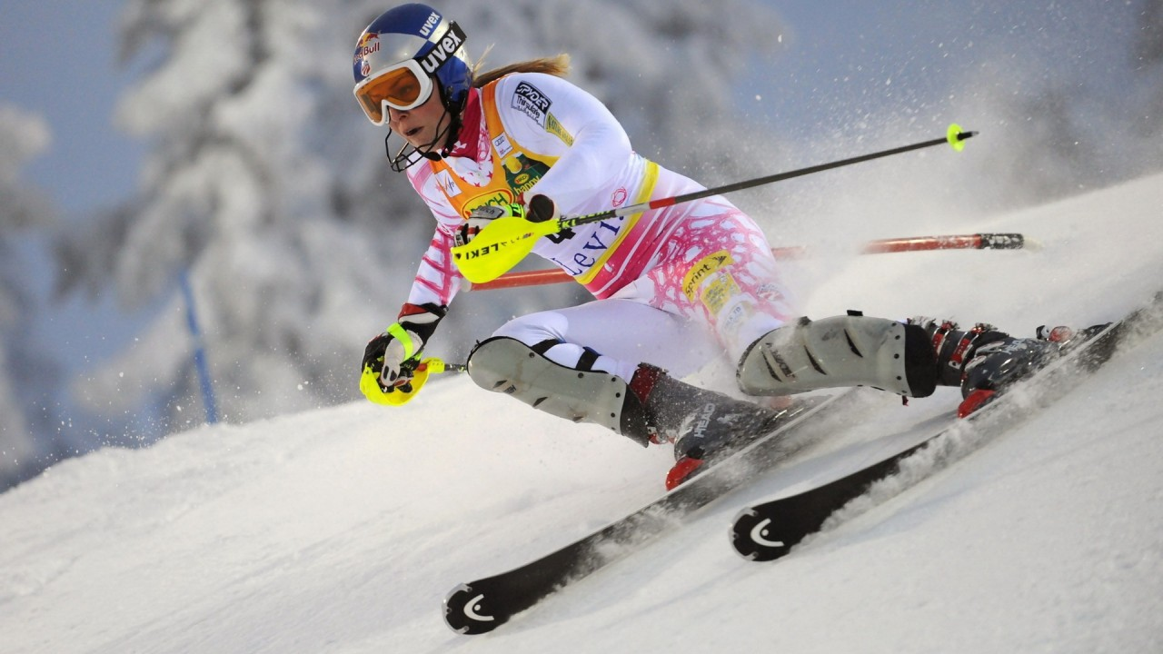 ski sports competition hd wallpaper