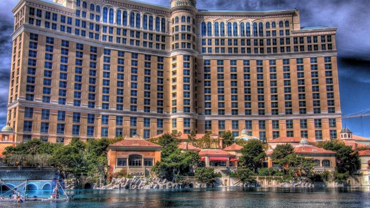 las vegas bellagio hd wallpaper