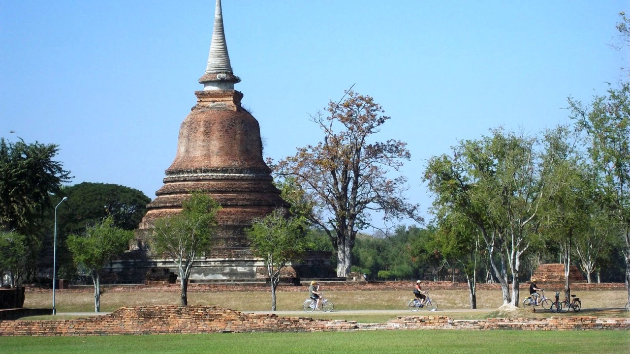 sukhothai park hd wallpaper