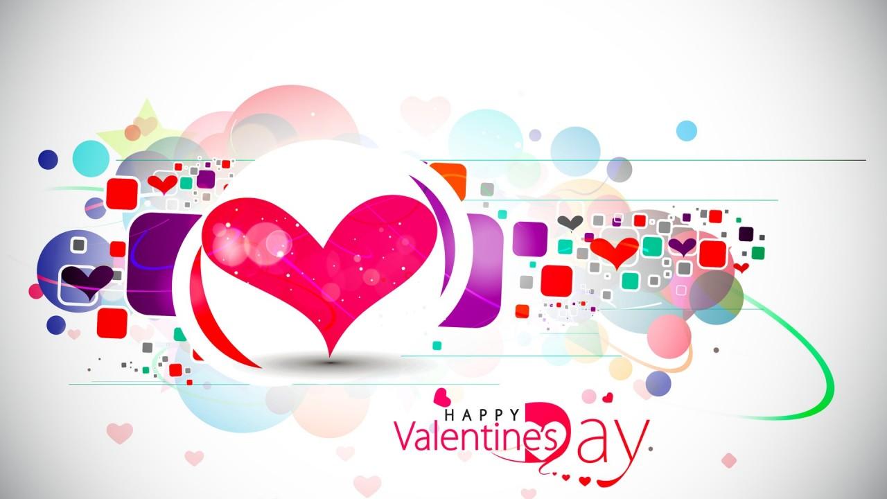 heart happy valentines day hd wallpaper